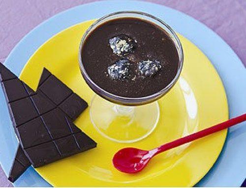 טראפל'ס במרק שוקולד מונטזומה