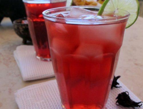 משקה חמאייקה (חליטת היביסקוס)